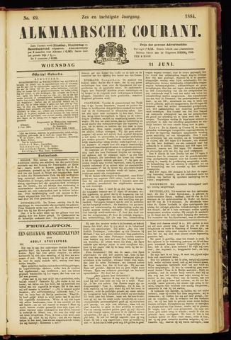 Alkmaarsche Courant 1884-06-11