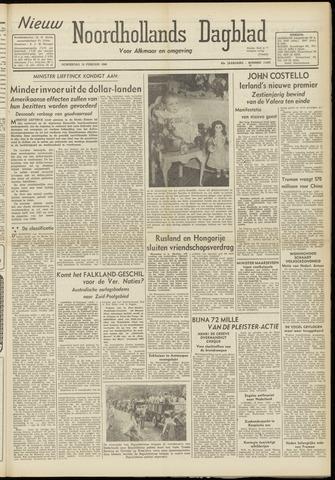 Nieuw Noordhollandsch Dagblad : voor Alkmaar en omgeving 1948-02-19