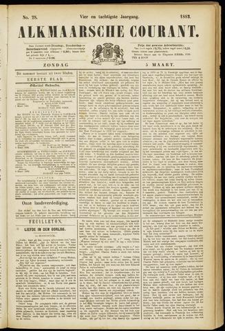 Alkmaarsche Courant 1882-03-05