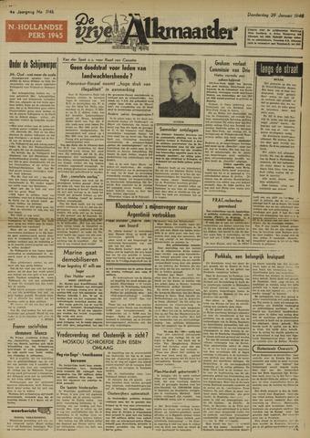De Vrije Alkmaarder 1948-01-29