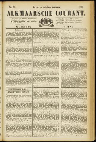 Alkmaarsche Courant 1885-06-10