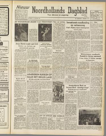Nieuw Noordhollandsch Dagblad : voor Alkmaar en omgeving 1947-10-11
