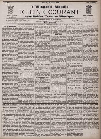 Vliegend blaadje : nieuws- en advertentiebode voor Den Helder 1902-01-15