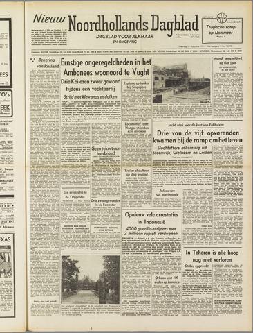 Nieuw Noordhollandsch Dagblad : voor Alkmaar en omgeving 1951-08-20
