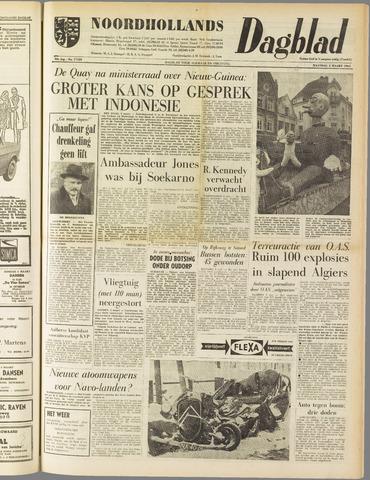 Noordhollands Dagblad : dagblad voor Alkmaar en omgeving 1962-03-05