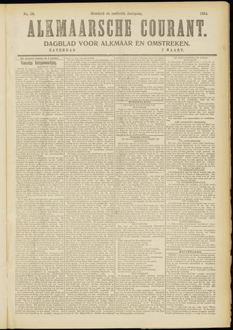 Alkmaarsche Courant 1914-03-07
