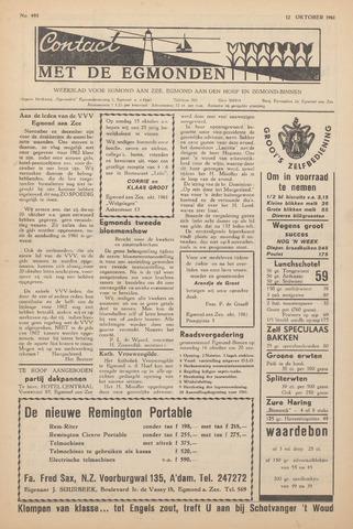 Contact met de Egmonden 1961-10-12