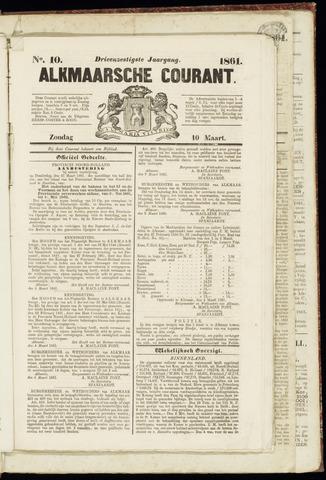 Alkmaarsche Courant 1861-03-10