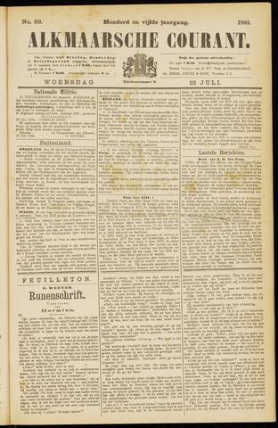 Alkmaarsche Courant 1903-07-22