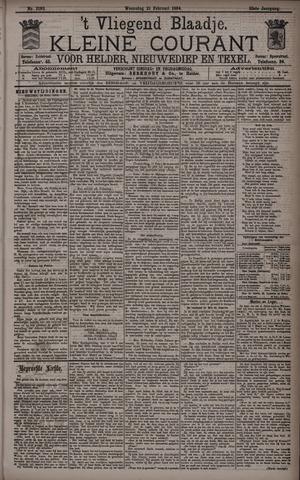 Vliegend blaadje : nieuws- en advertentiebode voor Den Helder 1894-02-21