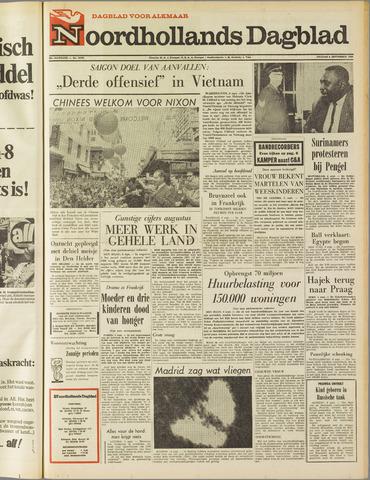 Noordhollands Dagblad : dagblad voor Alkmaar en omgeving 1968-09-06