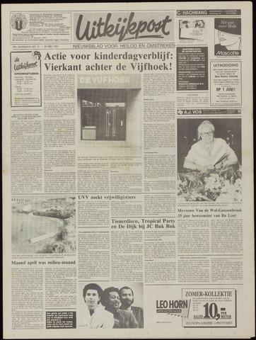 Uitkijkpost : nieuwsblad voor Heiloo e.o. 1991-05-22