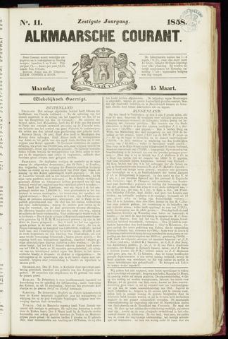 Alkmaarsche Courant 1858-03-15