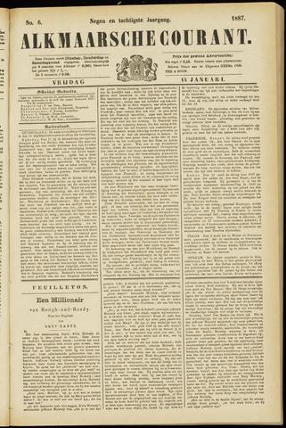 Alkmaarsche Courant 1887-01-14