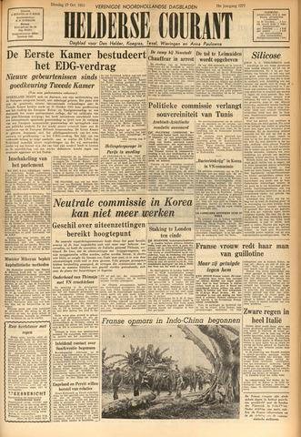 Heldersche Courant 1953-10-27