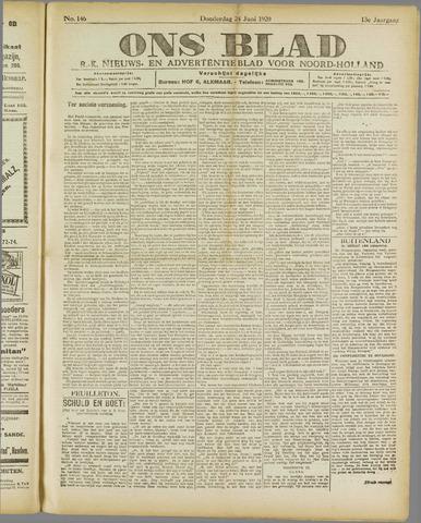 Ons Blad : katholiek nieuwsblad voor N-H 1920-06-24