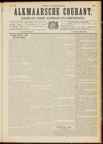 Alkmaarsche Courant 1907-12-21