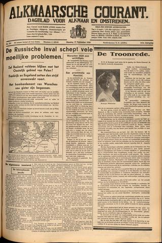Alkmaarsche Courant 1939-09-19