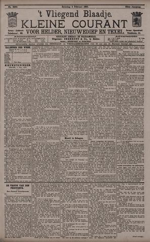 Vliegend blaadje : nieuws- en advertentiebode voor Den Helder 1895-02-02