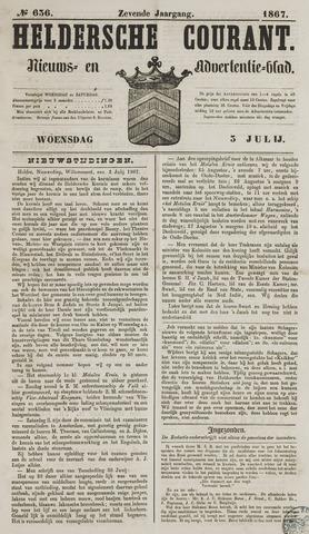 Heldersche Courant 1867-07-03