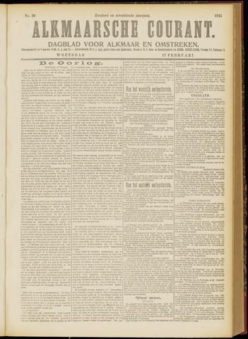 Alkmaarsche Courant 1915-02-17