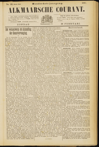 Alkmaarsche Courant 1898-02-20