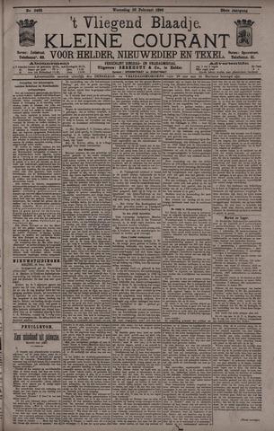 Vliegend blaadje : nieuws- en advertentiebode voor Den Helder 1896-02-26
