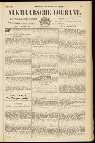 Alkmaarsche Courant 1902-08-27