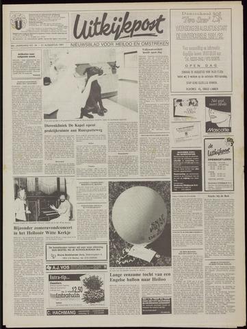 Uitkijkpost : nieuwsblad voor Heiloo e.o. 1991-08-21