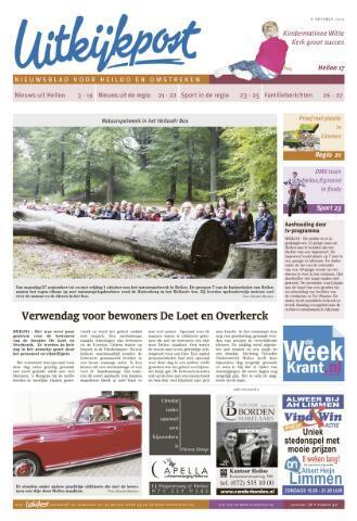 Uitkijkpost : nieuwsblad voor Heiloo e.o. 2010-10-06