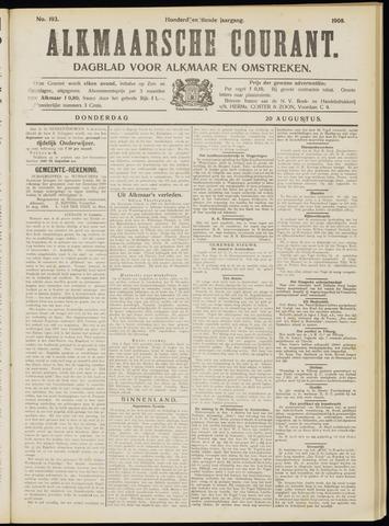 Alkmaarsche Courant 1908-08-20