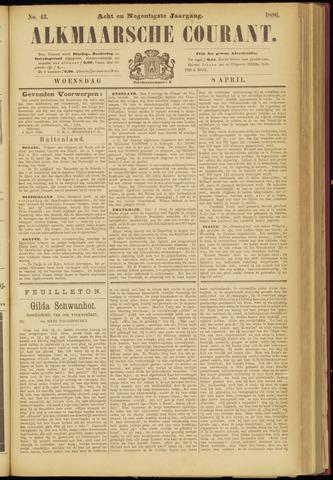 Alkmaarsche Courant 1896-04-08