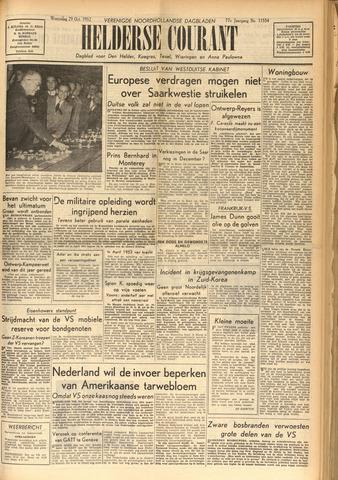 Heldersche Courant 1952-10-29