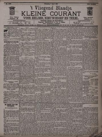 Vliegend blaadje : nieuws- en advertentiebode voor Den Helder 1895-04-03