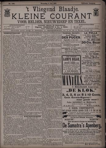 Vliegend blaadje : nieuws- en advertentiebode voor Den Helder 1887-07-06