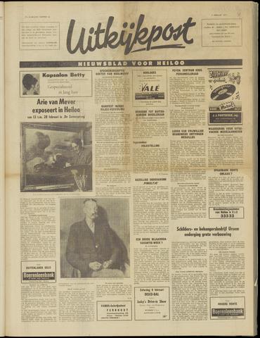 Uitkijkpost : nieuwsblad voor Heiloo e.o. 1971-02-03