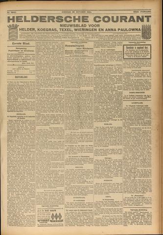 Heldersche Courant 1924-10-28
