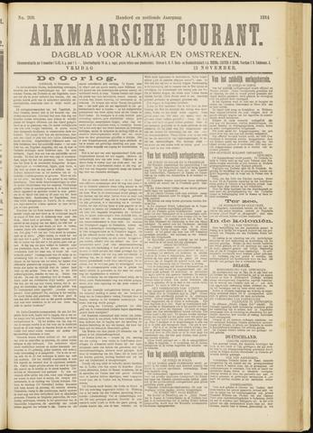 Alkmaarsche Courant 1914-11-13