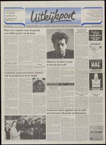 Uitkijkpost : nieuwsblad voor Heiloo e.o. 2001-01-24