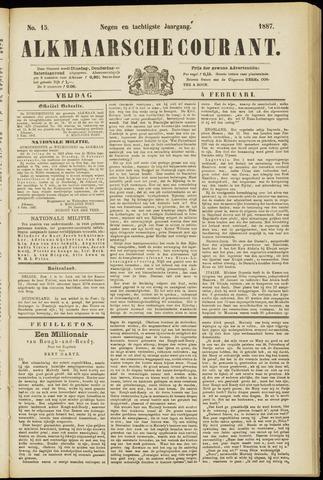 Alkmaarsche Courant 1887-02-04