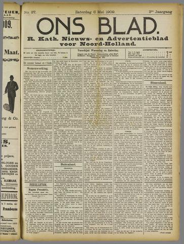 Ons Blad : katholiek nieuwsblad voor N-H 1909-05-08