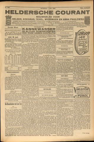Heldersche Courant 1928-07-07