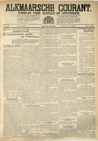 Alkmaarsche Courant 1933-05-01