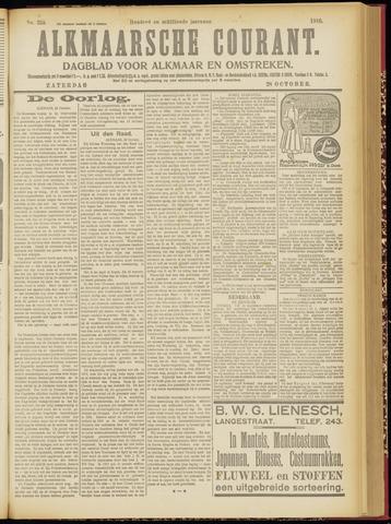 Alkmaarsche Courant 1916-10-28