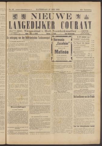 Nieuwe Langedijker Courant 1933-05-27