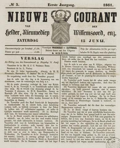 Nieuwe Courant van Den Helder 1861-06-15