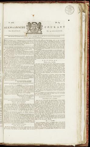 Alkmaarsche Courant 1825-09-19