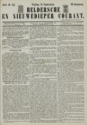 Heldersche en Nieuwedieper Courant 1870-09-16