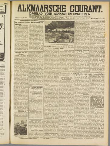 Alkmaarsche Courant 1941-11-05