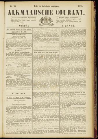 Alkmaarsche Courant 1881-03-06